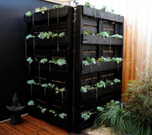 Une façon très originale de faire un adorable jardin dintérieur.