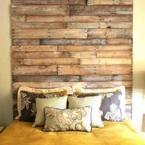 Comment faire un mur en bois de palette - Comment construire un mur en bois ...