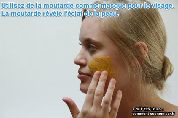 De miel le masque pour la personne pour la peau problématique