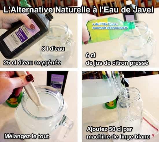 enfin une alternative naturelle l 39 eau de javel. Black Bedroom Furniture Sets. Home Design Ideas