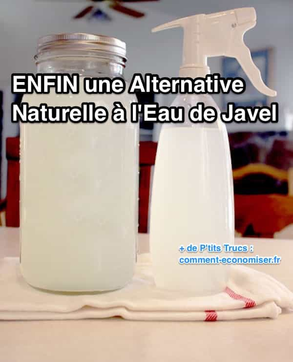 Enfin une alternative naturelle l 39 eau de javel - Desinfecter machine a laver ...