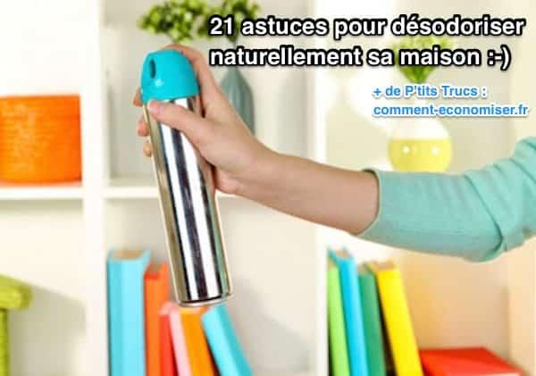 21 astuces pour d sodoriser naturellement sa maison for Aerer une maison