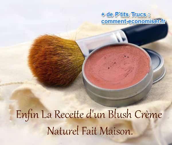 La recette du blush cr me naturel enfin d voil e - Faire son maquillage maison ...