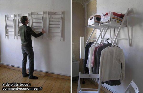 22 objets recycl s que vous aimeriez bien voir chez vous - A quelle hauteur fixer un porte manteau ...