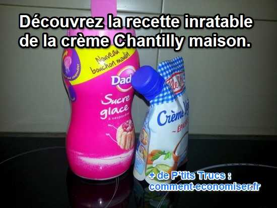 cr 232 me chantilly maison ma recette inratable