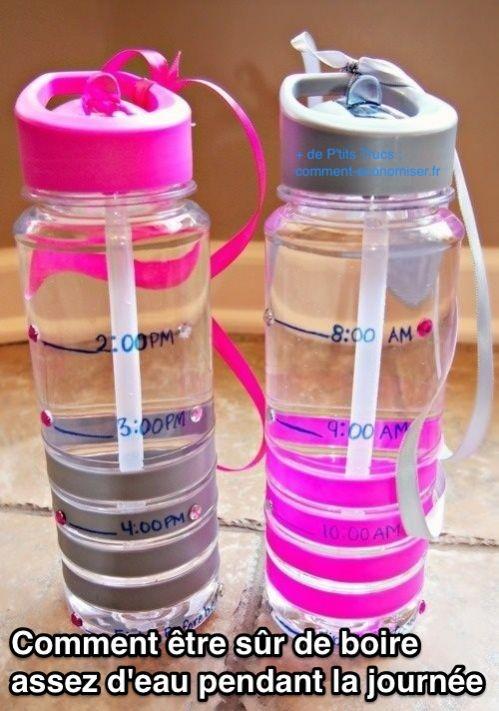 L'astuce pour boire assez d'eau tous les jours