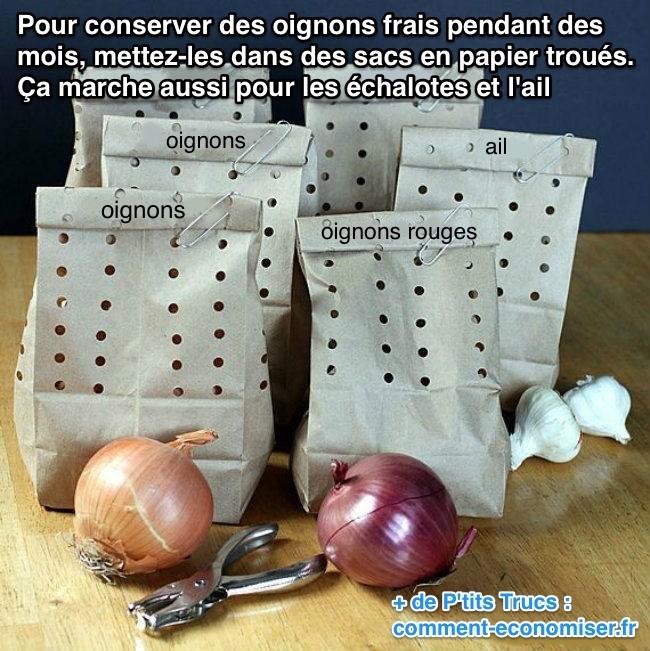 L 39 astuce incroyable pour conserver les oignons frais - Comment conserver les oignons ...