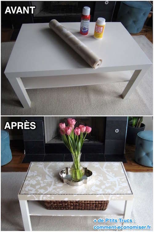 excellent comment facilement transformer une table ikea en meuble chic comment repeindre des. Black Bedroom Furniture Sets. Home Design Ideas
