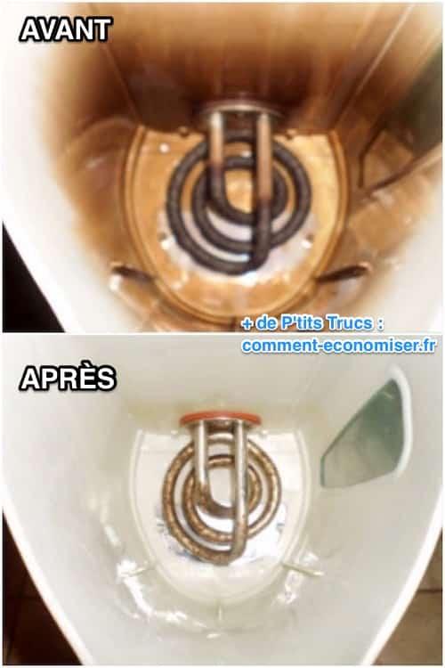 Le produit miraculeux pour d tartrer votre bouilloire en un clair - Enlever le calcaire des toilettes ...