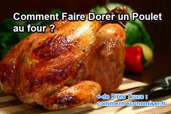 comment cuire 1 poulet au four
