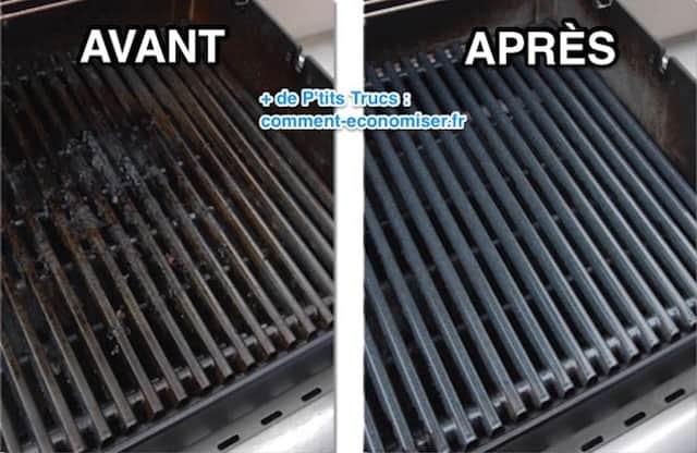 3 recettes magiques pour nettoyer et d graisser la grille du barbecue facilement. Black Bedroom Furniture Sets. Home Design Ideas