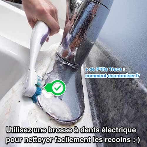 comment utiliser une brosse dents lectrique pour nettoyer chaque recoin de la maison. Black Bedroom Furniture Sets. Home Design Ideas