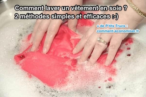 Comment laver un v tement en soie 2 m thodes simples et efficaces - Comment raviver un vetement noir ...