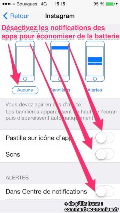 comment arreter une application iphone 4