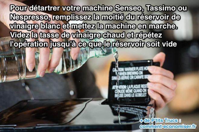Detartrage tassimo bosch avec vinaigre blanc ustensiles - Vinaigre blanc machine a laver adoucissant ...