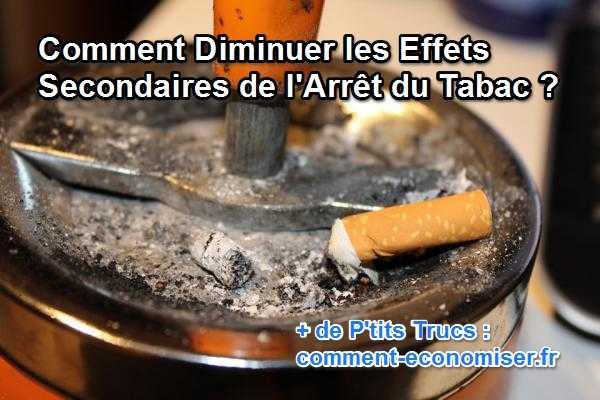 comment diminuer les effets secondaires de l 39 arr t du tabac. Black Bedroom Furniture Sets. Home Design Ideas