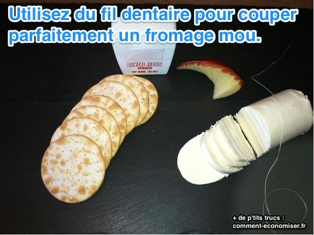 L 39 astuce surprenante pour couper un fromage sans couteau - Comment bien aiguiser un couteau ...