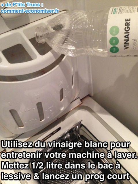 comment nettoyer machine à laver