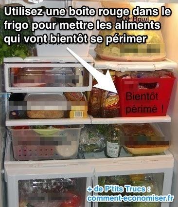 l 39 astuce pour ne plus laisser de la nourriture se p rimer dans le frigo. Black Bedroom Furniture Sets. Home Design Ideas