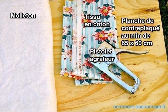 Voici comment faire sa planche repasser facilement en 15 - Fabriquer planche a repasser murale ...