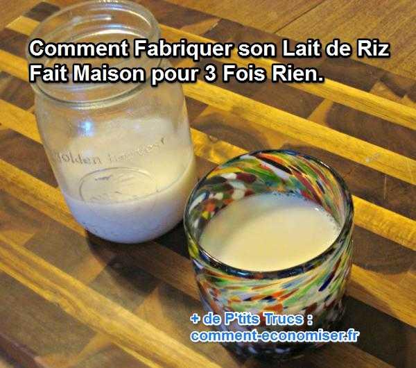 Comment fabriquer son lait de riz fait maison pour 3 fois rien - Comment fabriquer son fixie ...