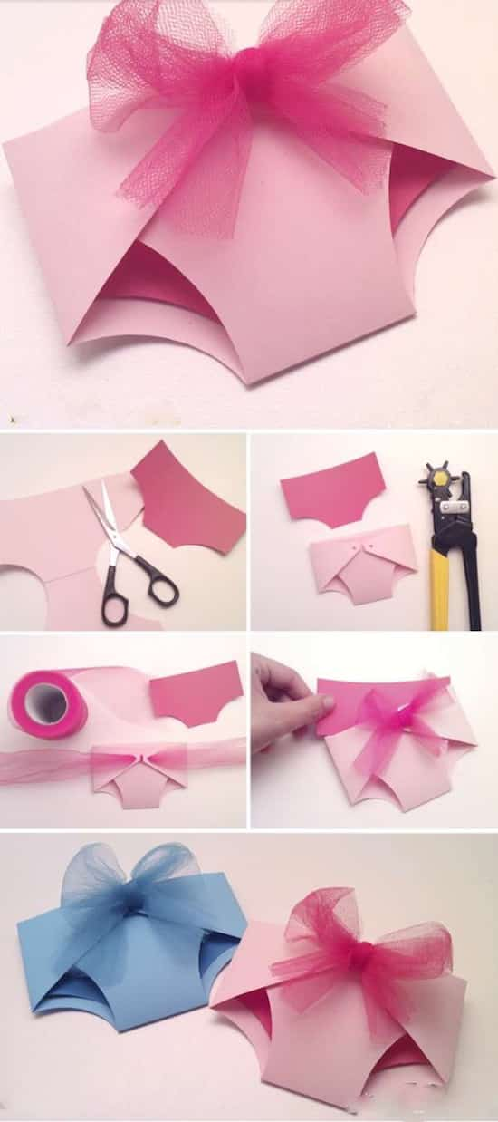 15 super id es de faire part de naissance faire soi m me - Comment faire une rose en papier facile ...