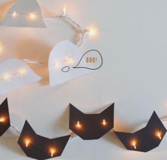 18 super d corations d 39 halloween tr s faciles faire. Black Bedroom Furniture Sets. Home Design Ideas