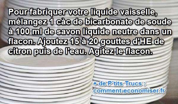 la recette pour fabriquer son liquide vaisselle maison. Black Bedroom Furniture Sets. Home Design Ideas