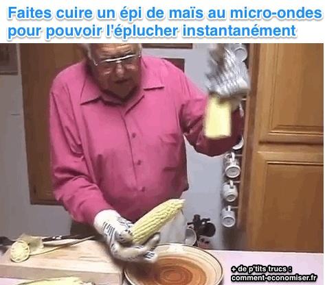 Le truc infaillible pour plucher et cuire parfaitement un - Cuisiner des epis de mais ...