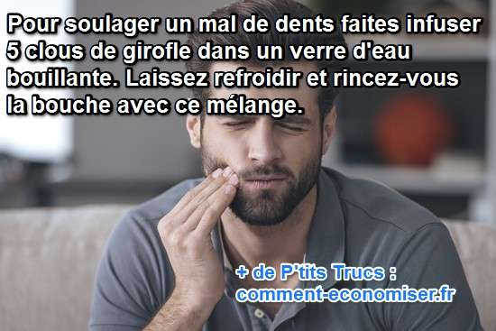 comment soulager un mal de dents