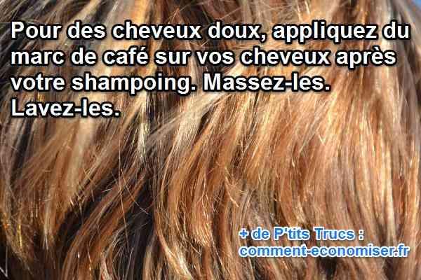 Le marc de caf un apr s shampooing naturel efficace et gratuit - Comment faire bruler du marc de cafe ...