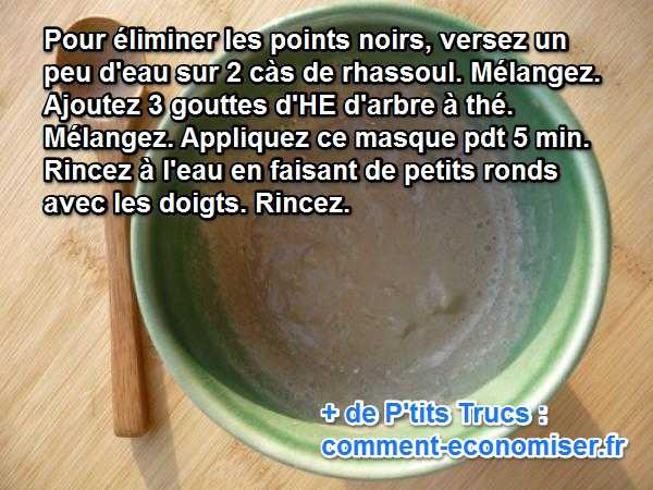 astuce beaut contre les points noirs. Black Bedroom Furniture Sets. Home Design Ideas