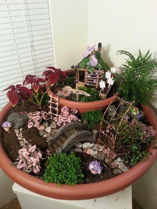 14 jardins miniatures qui vont vous faire r ver for Accessoire pour jardin zen
