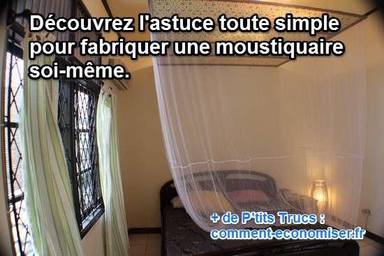 Comment fabriquer une moustiquaire for Fabriquer veranda soi meme