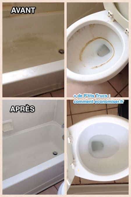Ce produit limine la graisse de toutes ces zones - Bicarbonate de soude nettoyage salle de bain ...
