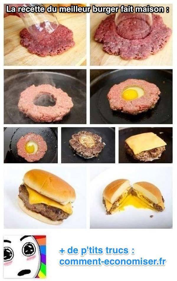 L'Astuce Pour Faire un Burger Maison Délicieux.