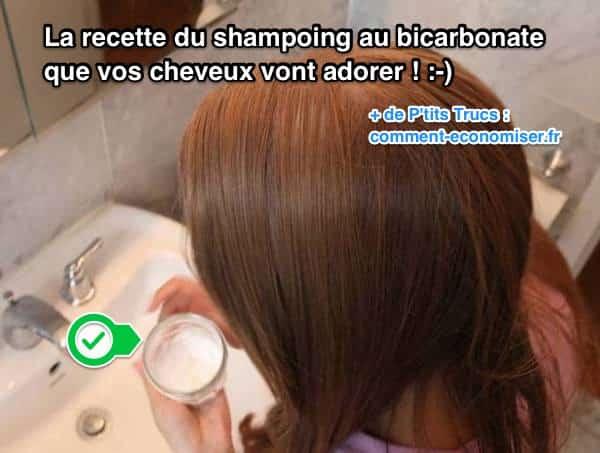 la recette du shampoing au bicarbonate que vos cheveux vont adorer. Black Bedroom Furniture Sets. Home Design Ideas
