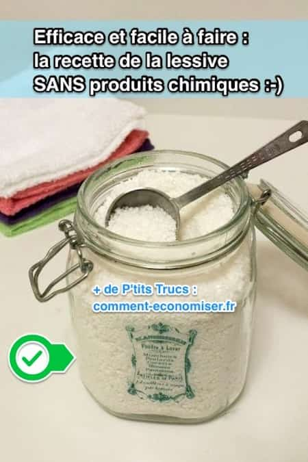 efficace et facile faire la recette de la lessive sans produits chimiques. Black Bedroom Furniture Sets. Home Design Ideas