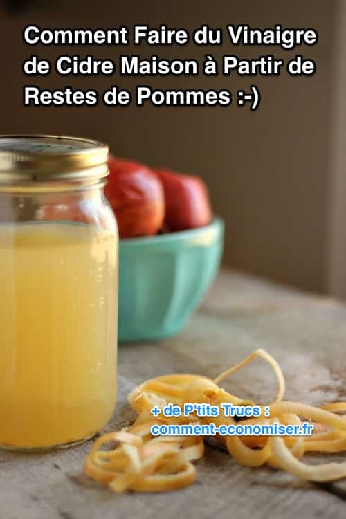 comment faire du vinaigre de cidre partir de restes de pommes. Black Bedroom Furniture Sets. Home Design Ideas