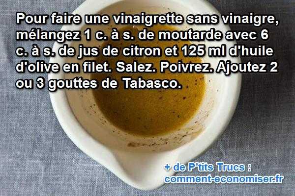 La recette de la vinaigrette sans vinaigre enfin d voil e - Faire une mere de vinaigre ...