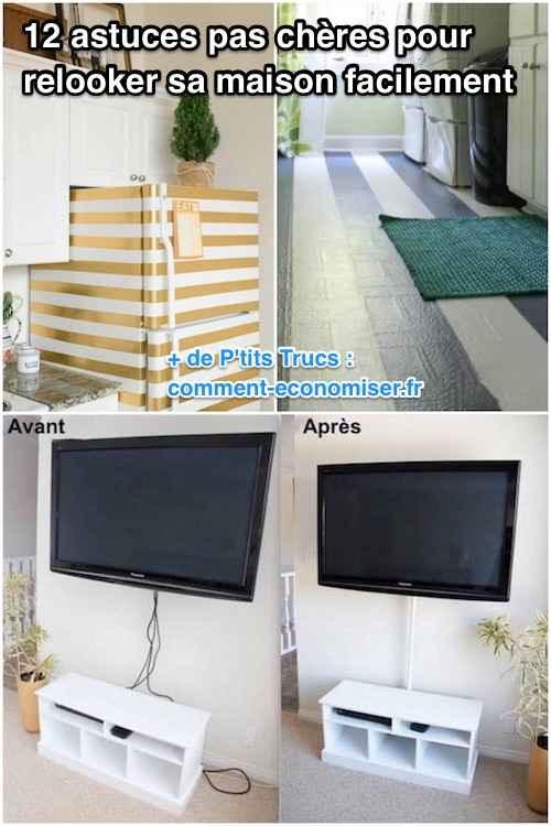astuce bricolage maison pas cher id e inspirante pour la conception de la maison. Black Bedroom Furniture Sets. Home Design Ideas