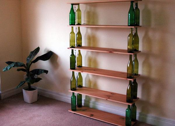 22 fa ons ing nieuses de recycler vos bouteilles en verre. Black Bedroom Furniture Sets. Home Design Ideas