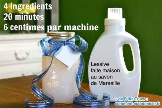 Corv e de lessive 15 astuces indispensables pour vous simplifier la vie - Comment fabriquer sa lessive ...
