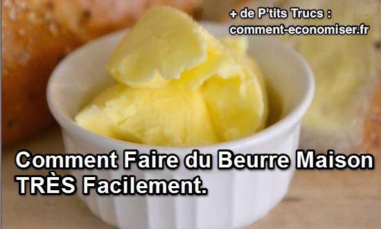 Comment faire du beurre maison tr s facilement - Comment faire du crepi au rouleau ...
