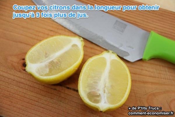 La bonne fa on de couper un citron pour obtenir un maximum - Comment couper un potiron pour la soupe ...