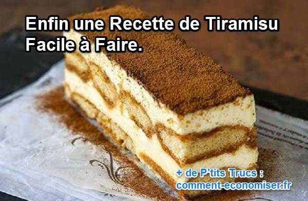 Recette Du Tiramisu Sans Caf Ef Bf Bd