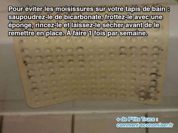 7 astuces pour enlever toutes les moisissures la maison - Enlever moisissure salle de bain bicarbonate ...