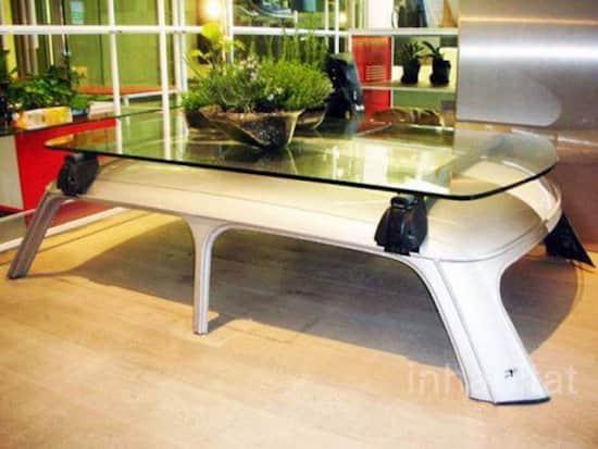 Customiser Une Table Basse En Chene ~ 28 Fa?ons Surprenantes De Sauver Une Vieille Voiture De La Casse
