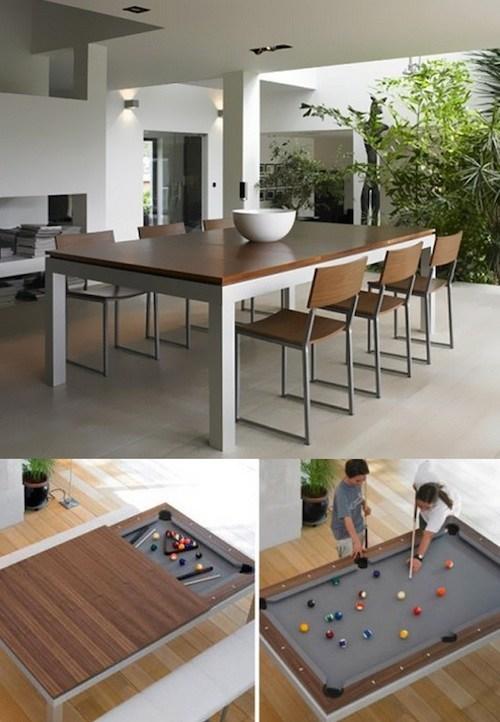 15 produits incroyables qui font conomiser de la place for Table qui se transforme en etagere