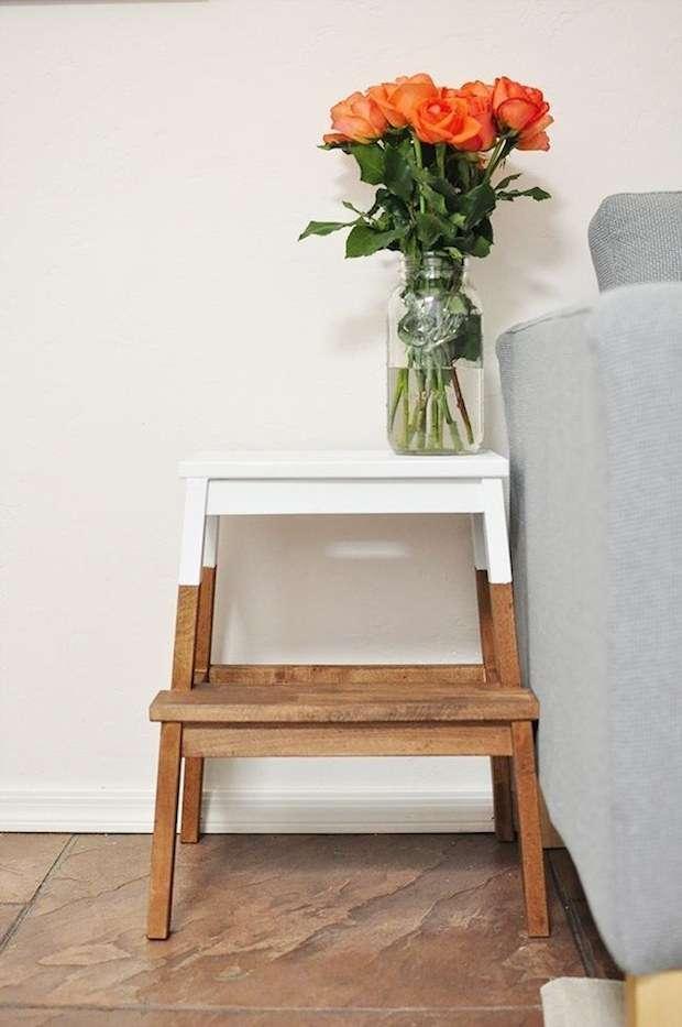 19 astuces pour rendre vos meubles ikea chics tendance - Pied pour meuble ikea ...